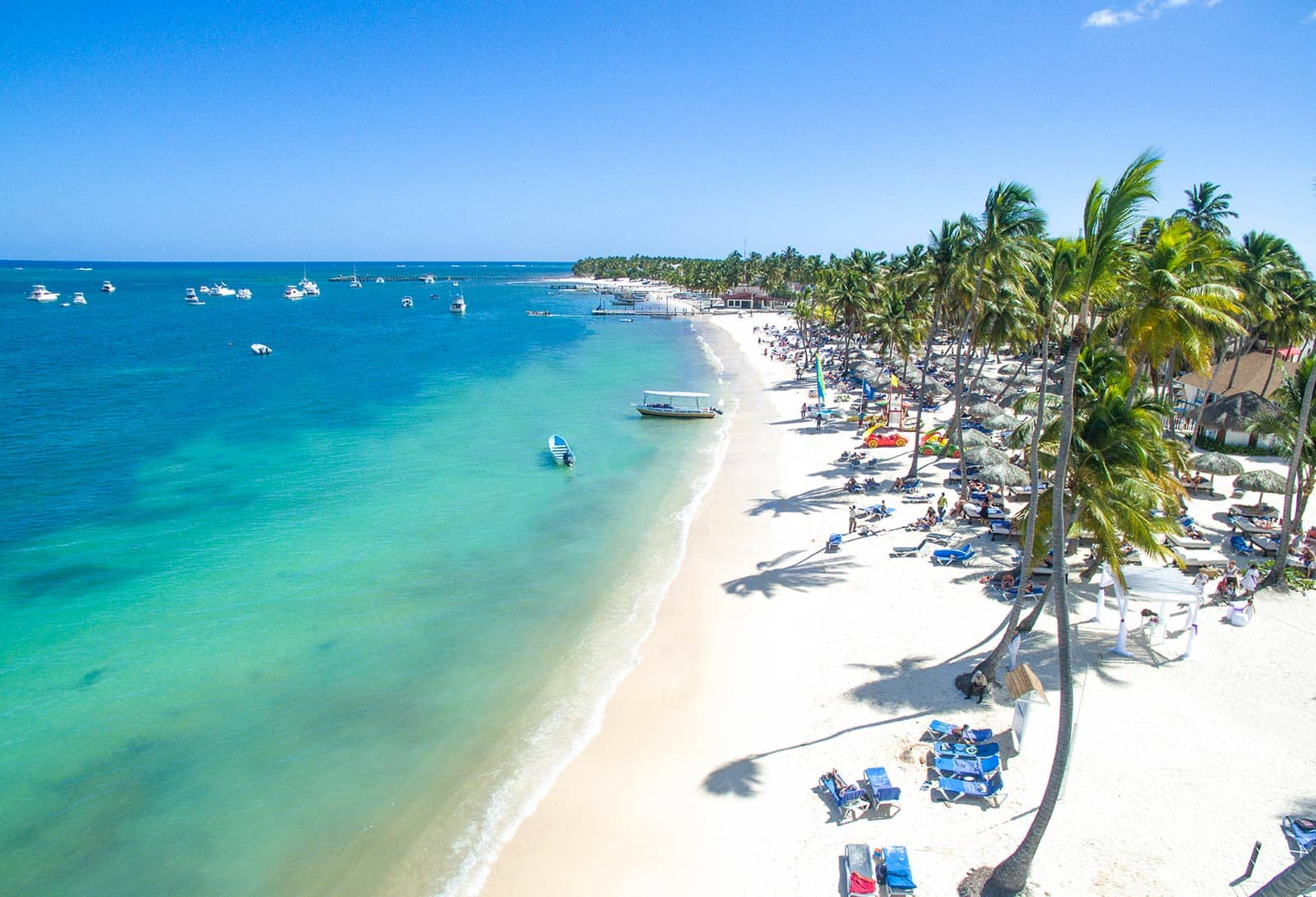 Strand direkt bei den Appartements Punta Cana by Be Live